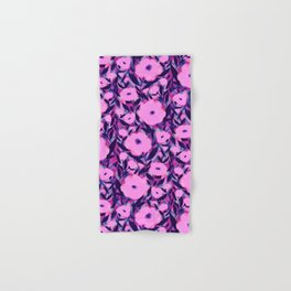 Layered Leaf Floral Pink Hand & Bath Towel