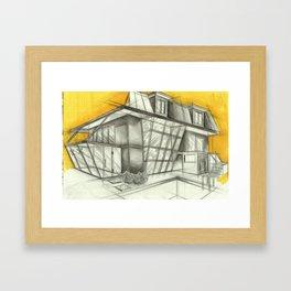 side Framed Art Print