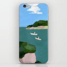 Peaceful sea iPhone Skin