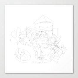 dream house Canvas Print