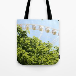 Sky Wheel Tote Bag