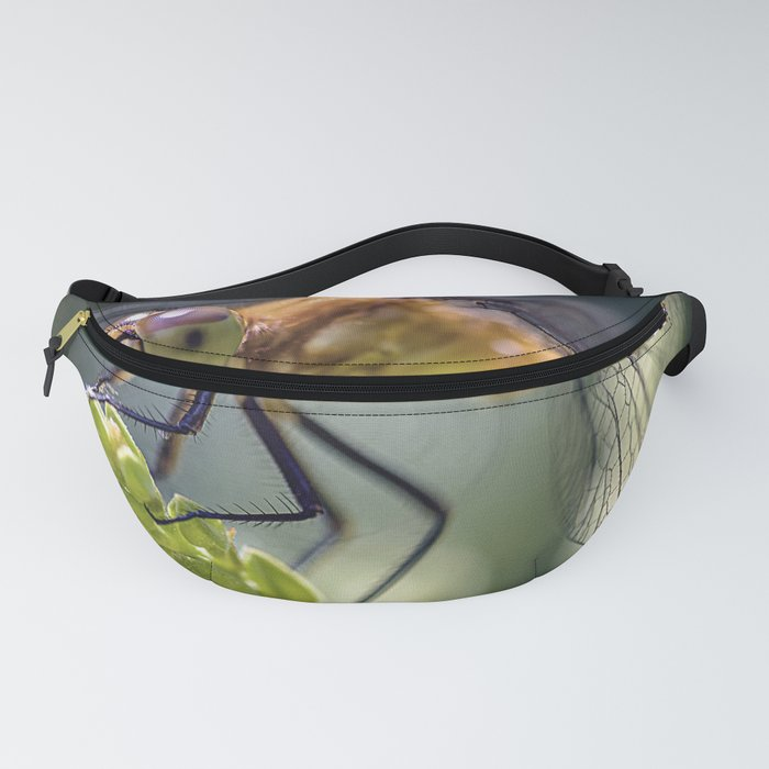 Dragonfly Closeup Fanny Pack