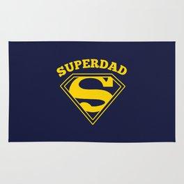 Superdad | Superhero Dad Gift Rug