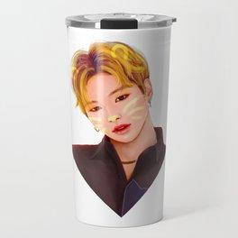 Kang Daniel Cat Travel Mug