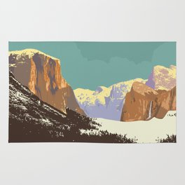 Yosemite National Park Rug