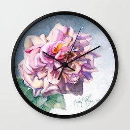 Rose 3 Wall Clock