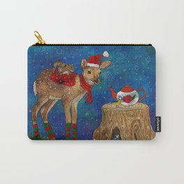 Christmas Tea Party Carry-All Pouch