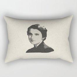 Rosalind Franklin Rectangular Pillow