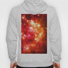 Red Orange Galaxy Nebula Hoody