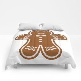 Gingerbread Hugs Comforters