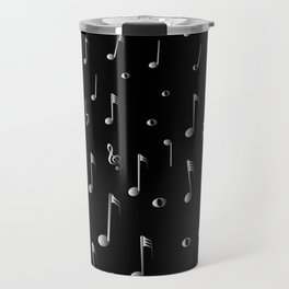Raining Music Travel Mug
