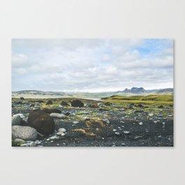 Volcanic Landscape Canvas Print
