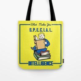 Intelligence S.P.E.C.I.A.L. Fallout 4 Tote Bag