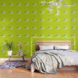 Pistachio shadow parakeet Wallpaper