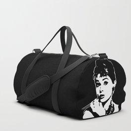 1960's SUPER STAR ACTRESS AUDREY Duffle Bag