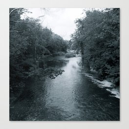 The Blue of the River Canvas Print