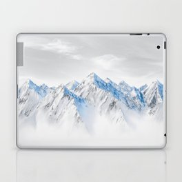 Snow Capped Mountains Laptop & iPad Skin