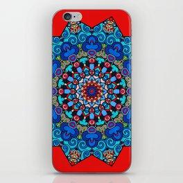 Mandala - Red Velvet iPhone Skin