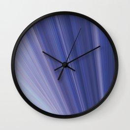 Light Blue Range Wall Clock