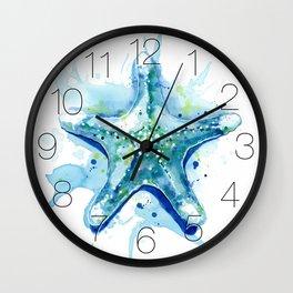 Starfish Waters II Wall Clock