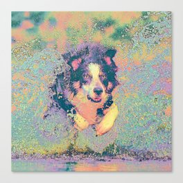 Pastel_Dog_001_by_JAMColors Canvas Print