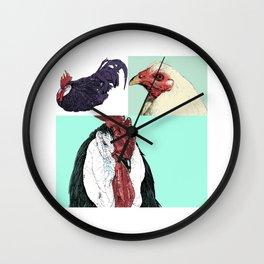 Flock No. 1 Wall Clock