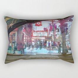 Chicago - State and Lake Rectangular Pillow