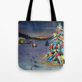Christmas Campers Tote Bag