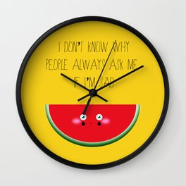 I don't know why Wall Clock