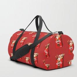 Chocolate Sharky Duffle Bag