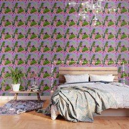 Tropicat Wallpaper