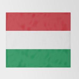 flag of hungary-hungary, hungarian, magyar,Magyarország, hungria,Budapest Throw Blanket