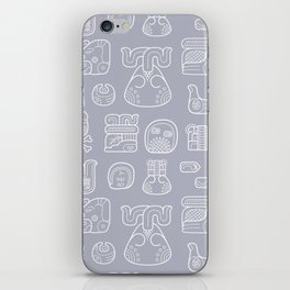 Picto-glyphs Story iPhone Skin