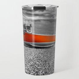 Orange Boat Travel Mug