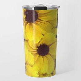 The yellow flowers Travel Mug