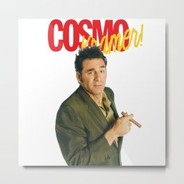 Cosmo Kramer Metal Print