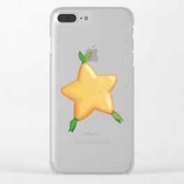 Paopu Fruit Clear iPhone Case