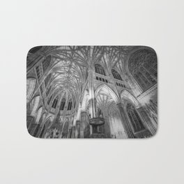 St Patrick's Cathedral New York Art Bath Mat
