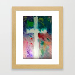 Worship With Paint Framed Art Print