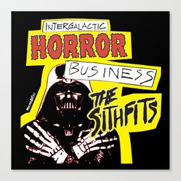 Sithfits - Intergalactic Horror Business Canvas Print