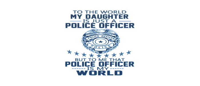 MY DAUGHTER IS MY POLICE OFFICER Coffee Mug