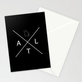 GEORGIAXATLANTA REVERSE Stationery Cards
