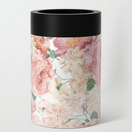 Flowers, Floral Explosion, Floral Pattern, Pink Flowers Can Cooler