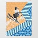 Ski Like a Girl by juliaannecreates