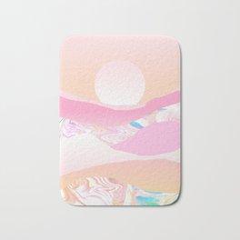 Sunrise Swirls Bath Mat