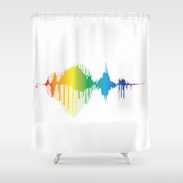 From The Root To The Crown Shower Curtain