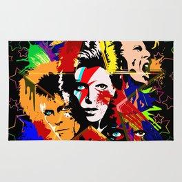 Bowie PopArt Metamorphosis Rug