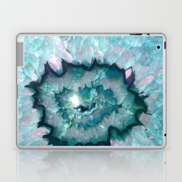 Teal Agate Laptop & iPad Skin