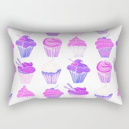 Cupcake Collection – Unicorn Palette Rectangular Pillow