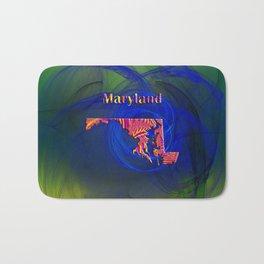Maryland Map Bath Mat